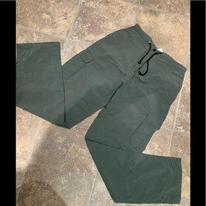 Vintage Nylon Jessica sport  cargo pant size 10